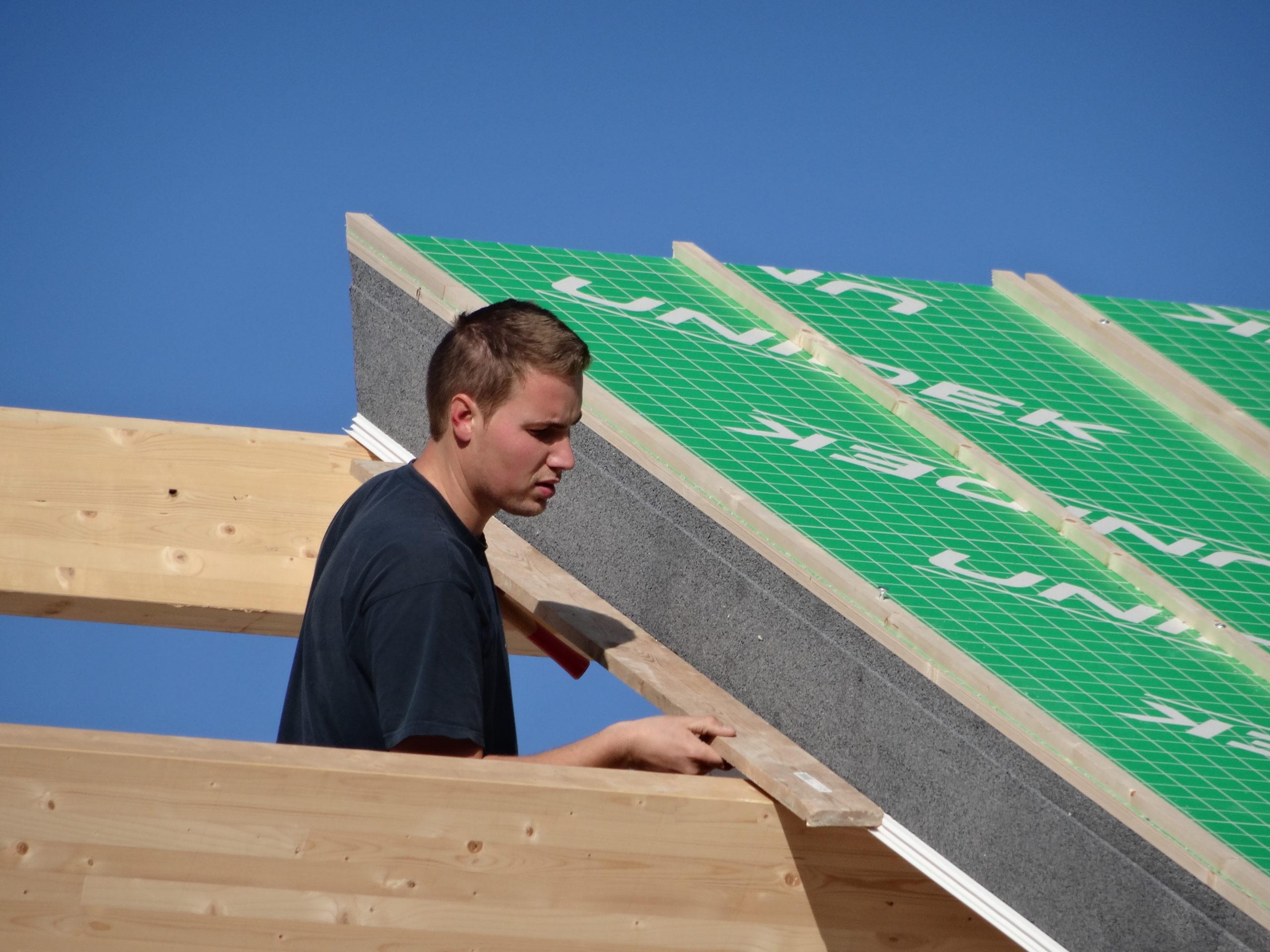 Zelfdragend dak