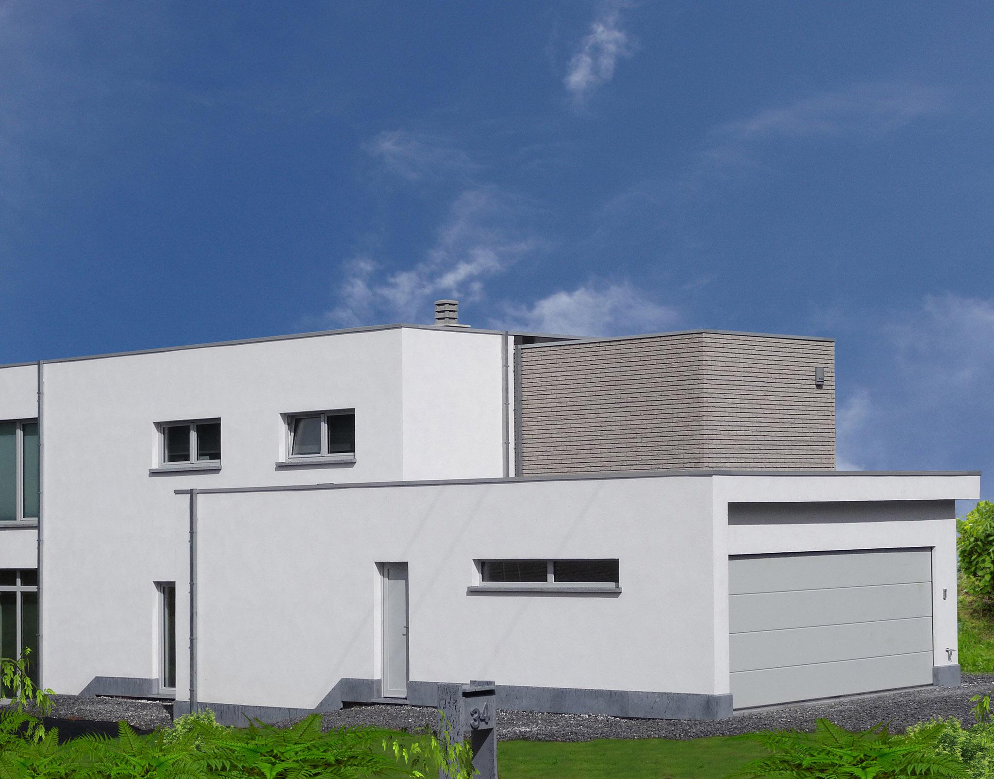 Mr en Mvr Carpentier-Devigne – Via aannemer – Moderne Villa