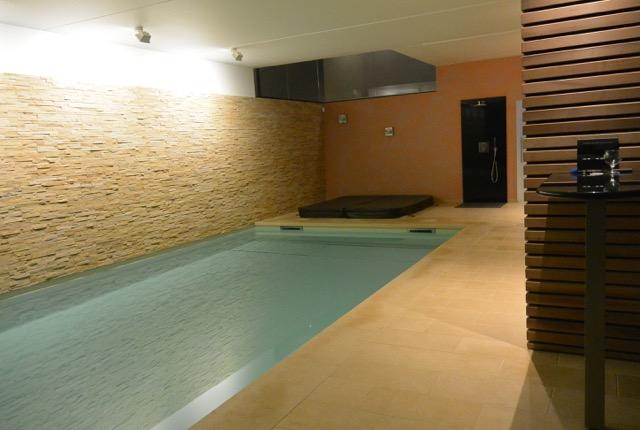 """Project van een overdekt zwembad – realisatie getekend """"AUSE SPRL"""""""