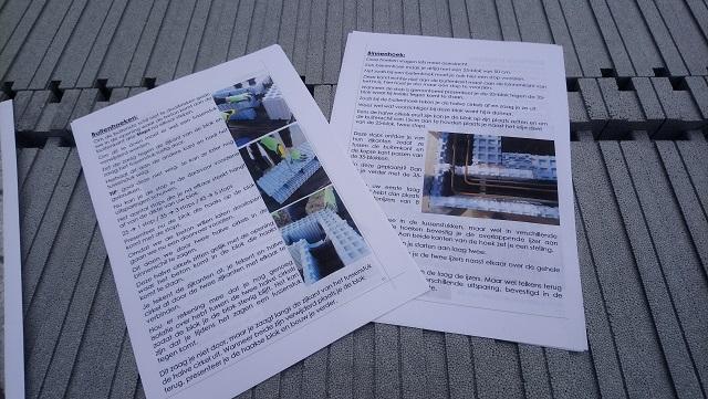 La fiche d'instruction regorge d'informations utiles, avec de nombreuses images explicatives tout au long de la vie du chantier. Très pratique !