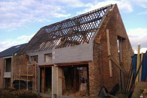 Mr Gillon – via Aannemer – Renovatie oude hoeve